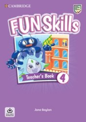 Fun Skills 4 Teacher's Book with Audio Download / Підручник для вчителя