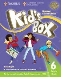Kid's Box Updated Level 6 Pupil's Book British English / Підручник для учня