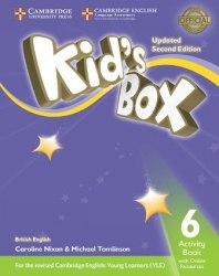 Kid's Box Updated Level 6 Activity Book with Online Resources British English / Робочий зошит