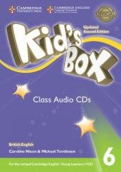 Kid's Box Updated Level 6 Class Audio CDs British English / Аудіо диск