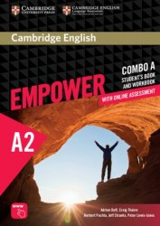 Cambridge English Empower A2 Elementary Combo A Student's Book and Workbook / Підручник + зошит