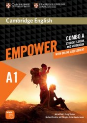 Cambridge English Empower A1 Starter Combo A Student's Book and Workbook / Підручник + зошит
