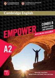 Cambridge English Empower A2 Elementary Combo B Student's Book and Workbook / Підручник + зошит