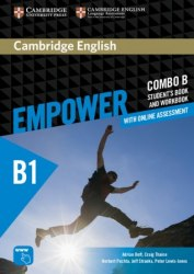 Cambridge English Empower B1 Pre-Intermediate Combo B Student's Book and Workbook / Підручник + зошит