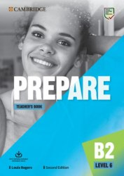 Cambridge English Prepare! (2nd Edition) 6 Teacher's Book with Downloadable Resource Pack / Підручник для вчителя