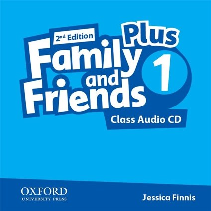 Family and Friends 1 (2nd Edition) Plus Class Audio CDs / Аудіо диск