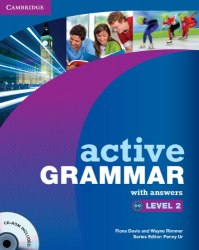 Active Grammar Level 2 Book with answers and CD-ROM / Підручник для учня з відповідями
