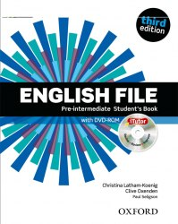 English File (3rd Edition) Pre-Intermediate Student's Book with iTutor / Підручник для учня