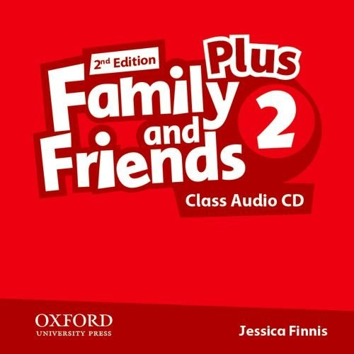 Family and Friends 2 (2nd Edition) Plus Class Audio CDs / Аудіо диск