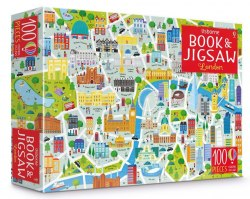 An Usborne Jigsaw with a Picture Book: London / Книга з пазлом