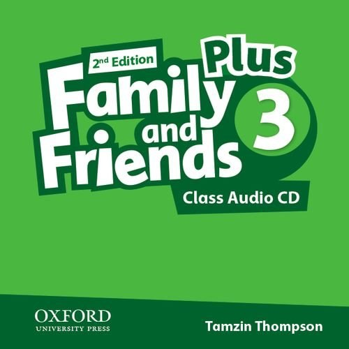 Family and Friends 2nd Edition 3 Plus Class Audio CDs / Аудіо диск