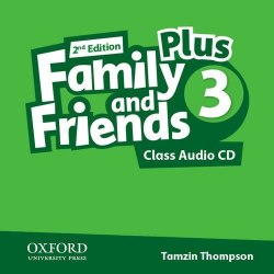 Family and Friends 2nd Edition 3 Plus Class Audio CDs Oxford University Press