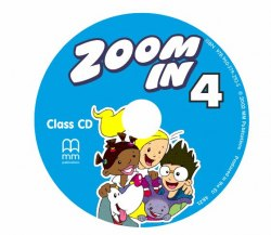 Zoom in 4 Class Audio CD / Аудіо диск