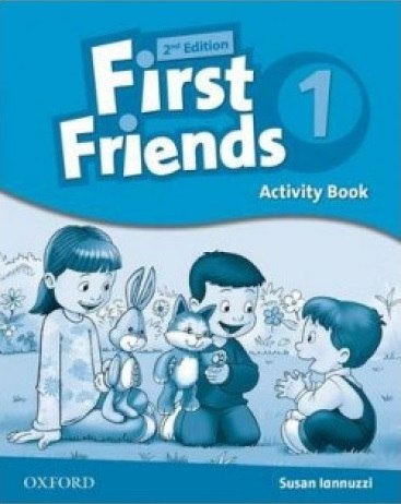 First Friends 1 (2nd Edition) Activity Book / Робочий зошит