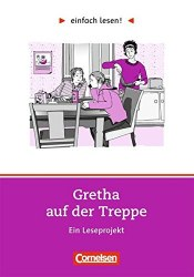 Einfach lesen 1 Gretha auf der Treppe