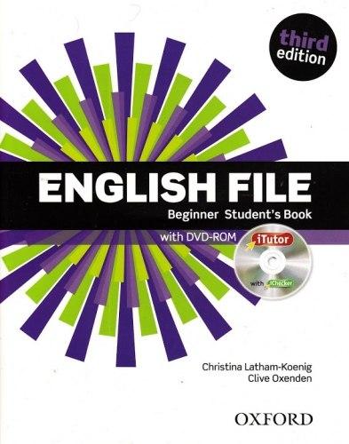 English File (3rd Edition) Beginner Student's Book / iTutor / Підручник для учня