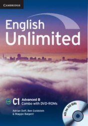English Unlimited Combo Advanced B SB+WB with DVD-ROMs (2) / Підручник + зошит