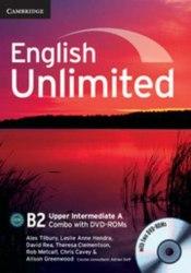 English Unlimited Combo Upper-Intermediate A SB+WB DVD-ROMs (2) / Підручник + зошит