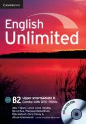 English Unlimited Combo Upper-Intermediate B SB+WB DVD-ROMs (2) / Підручник + зошит