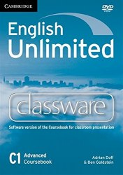 English Unlimited Advanced Classware DVD-ROM / DVD диск