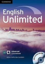 English Unlimited Advanced Coursebook with e-Portfolio / Підручник для учня