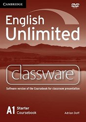 English Unlimited Starter Classware DVD-ROM / DVD диск