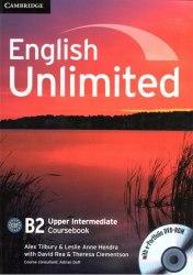 English Unlimited Upper-Intermediate Coursebook with e-Portfolio / Підручник для учня