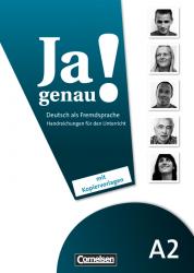 Ja genau! A2 Handbuch fur den Unterricht / Підручник для вчителя