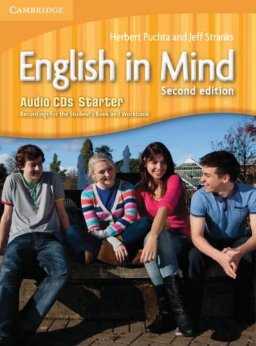 English in Mind Starter (2nd Edition) Audio CDs. Recordings for the Student's Book and Workbook / Аудіо диск