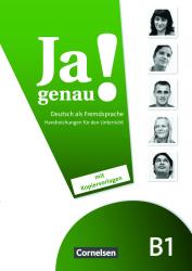 Ja genau! B1 Handbuch fur den Unterricht / Підручник для вчителя