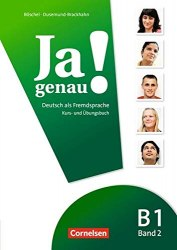 Ja genau! B1/2 Kurs — und Übungsbuch mit Audio CD / Підручник + зошит