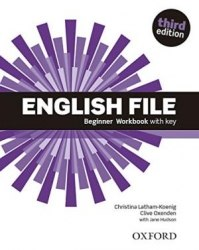 English File (3rd Edition) Beginner Workbook / key / Робочий зошит