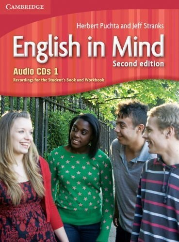 English in Mind 1 (2nd Edition) Audio CDs. Recordings for the Student's Book and Workbook / Аудіо диск