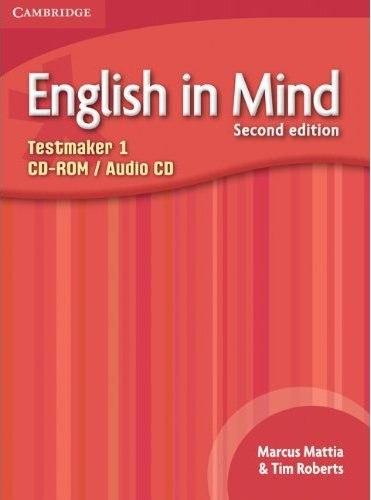 English in Mind 1 (2nd Edition) Testmaker CD-ROM/Audio CD / Диск для встановлення