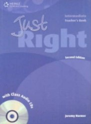 Just Right (2nd Edition) Intermediate Teacher's Book + CD / Підручник для вчителя