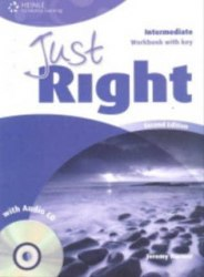 Just Right (2nd Edition) Intermediate Workbook with Key + CD / Робочий зошит з відповідями