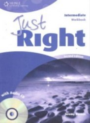 Just Right (2nd Edition) Intermediate Workbook without Key + CD / Робочий зошит без відповідей