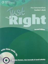 Just Right (2nd Edition) Pre-Intermediate Teacher's Book + CD / Підручник для вчителя