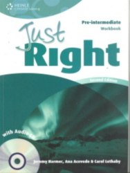 Just Right (2nd Edition) Pre-Intermediate Workbook without Key + CD / Робочий зошит без відповідей