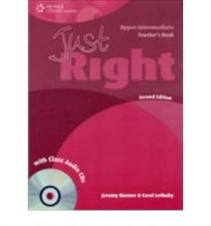 Just Right (2nd Edition) Upper-Intermediate Teacher's Book + CD / Підручник для вчителя