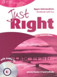 Just Right (2nd Edition) Upper-Intermediate Workbook with Key + CD / Робочий зошит з відповідями