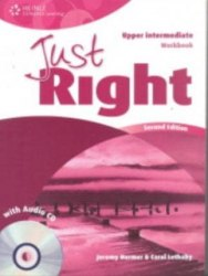 Just Right (2nd Edition) Upper-Intermediate Workbook without Key + CD / Робочий зошит без відповідей