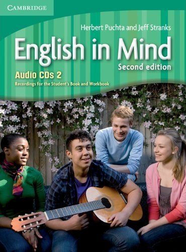 English in Mind 2 (2nd Edition) Audio CDs. Recordings for the Student's Book and Workbook / Аудіо диск