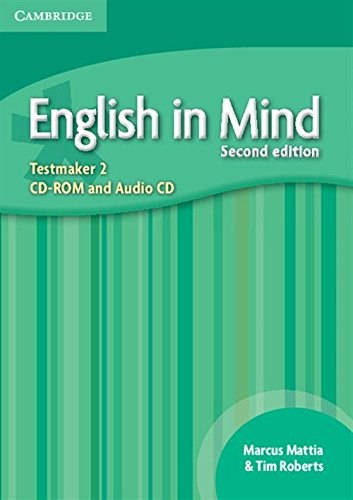 English in Mind 2 (2nd Edition) Testmaker CD-ROM/Audio CD / Диск для встановлення