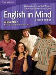 English in Mind 3 (2nd Edition) Audio CDs. Recordings for the Student's Book and Workbook / Аудіо диск