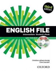 English File (3rd Edition) Intermediate Student's Book with iTutor / Підручник для учня