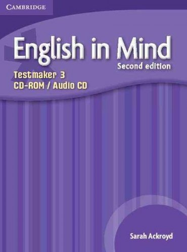 English in Mind 3 (2nd Edition) Testmaker CD-ROM/Audio CD / Диск для встановлення