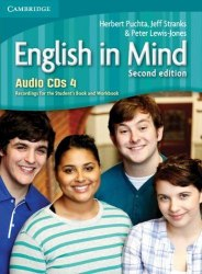 English in Mind 4 (2nd Edition) Audio CDs. Recordings for the Student's Book and Workbook / Аудіо диск
