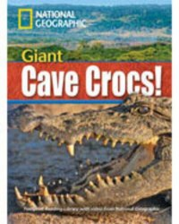 Footprint Reading Library 1900 B2 Giant Cave Crocs! with Multi-ROM