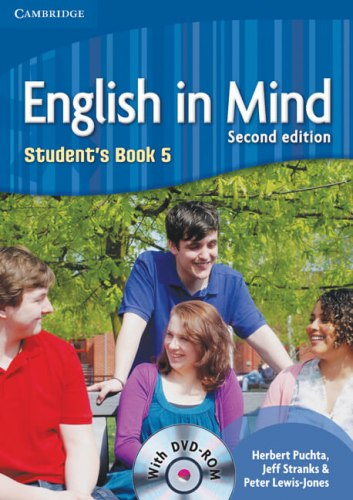 English in Mind 5 (2nd Edition) Students Book / DVD-ROM / Підручник для учня